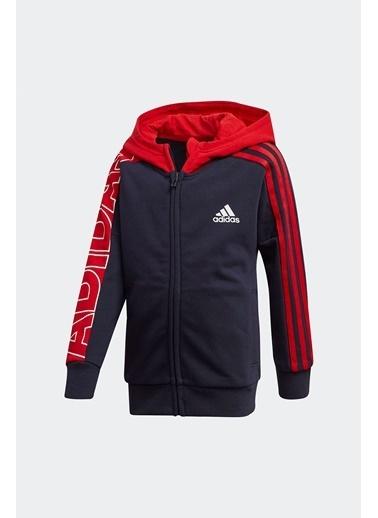 adidas Adidas Çocuk Koşu - Yürüyüş Eşofman Üstü Lk Br Kn Jkt Gg3532 Renkli